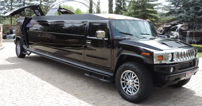 H2 Hummer with Door Open